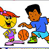 Basketball Coloring