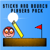 Sticky And Bouncy Players Pack